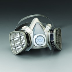 3M™ Half Facepiece Respirators 5000 Series, Disposable